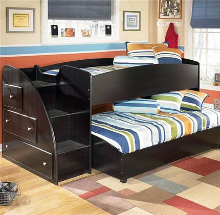 Идея двухъярусной кровати для подростков