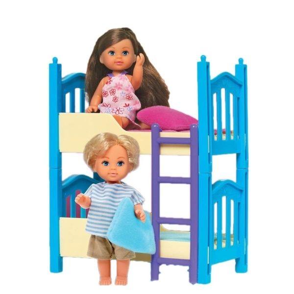 Игровой набор «Кукла Иви с братиком и двухъярусной кроватью»