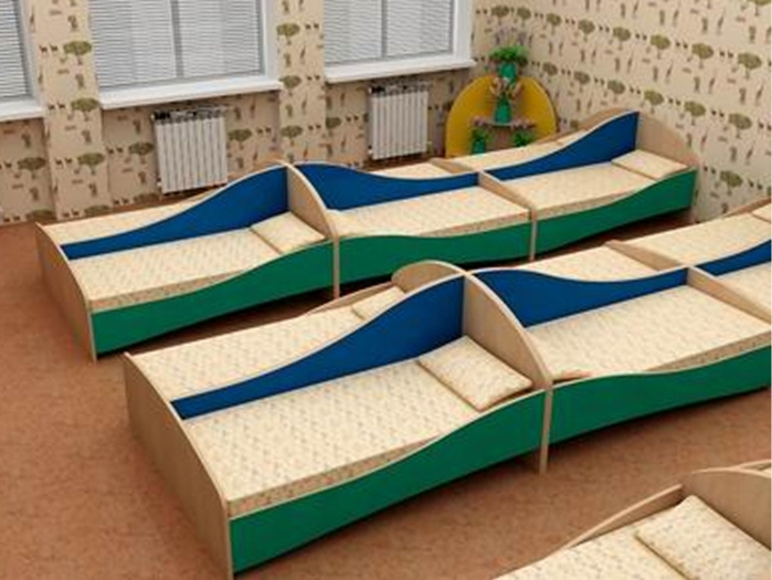 Качественные кровати для детского сада