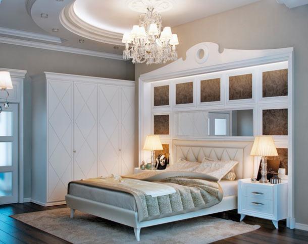 Как оформить стену над кроватью