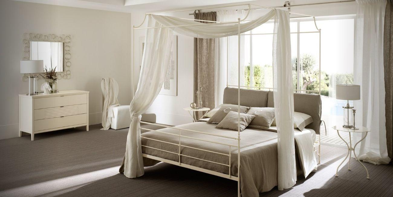 Как сделать нежный интерьер спальни