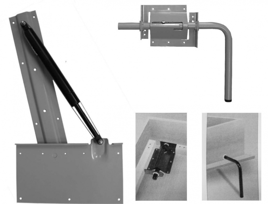 Как устроен газовый лифт для мебели