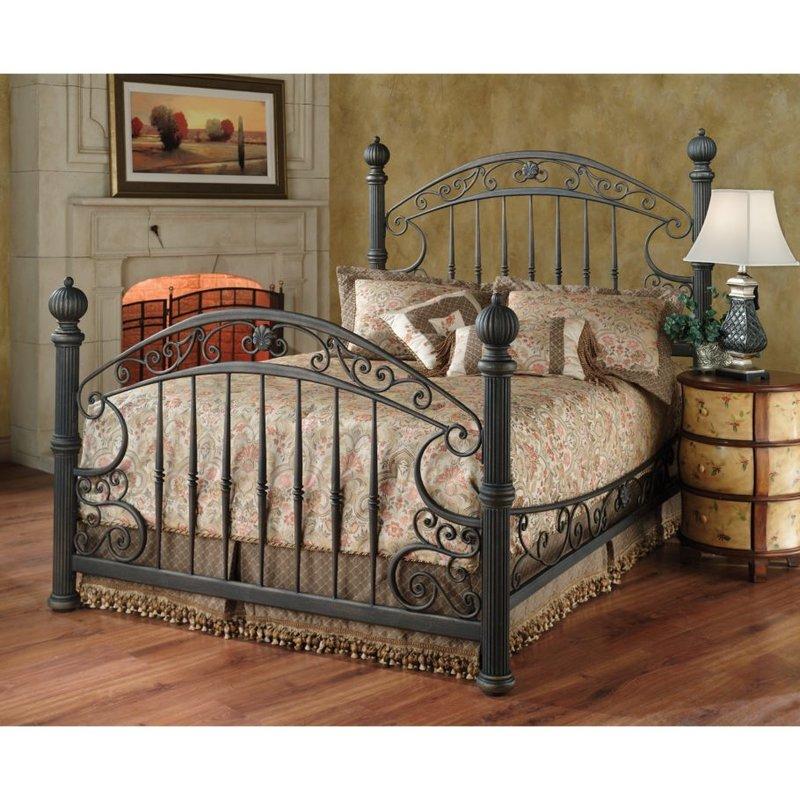 Кантри стиль интерьера спальни