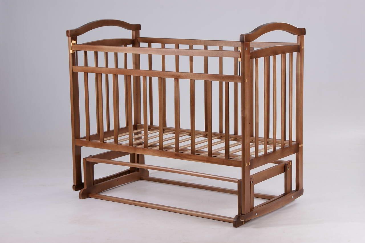 Каркас детской кроватки - маятника