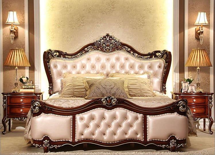 Классический дизайн кровати