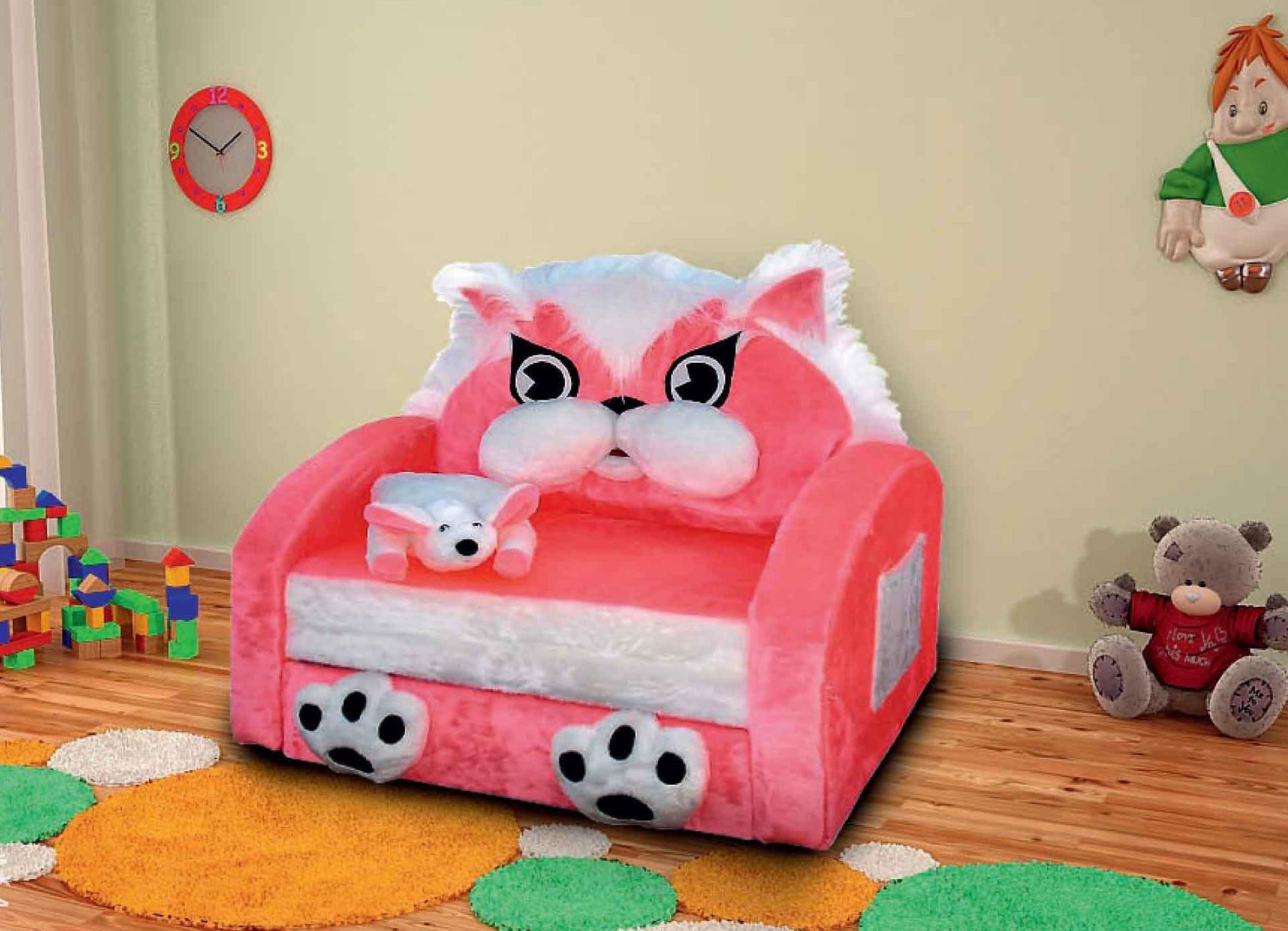 Комфортное кресло для маленького ребенка