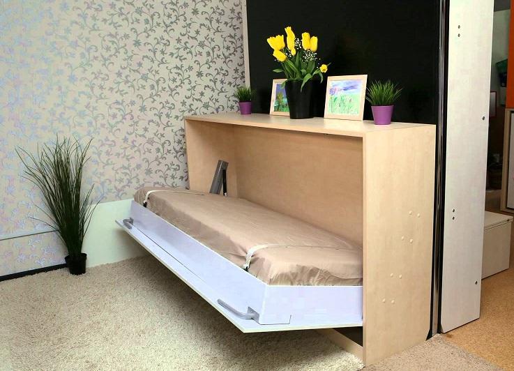 Компактную тумбу-кровать часто используют в детской комнате