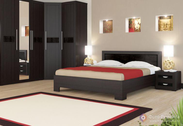 Комплект мебели для обустройства спальни