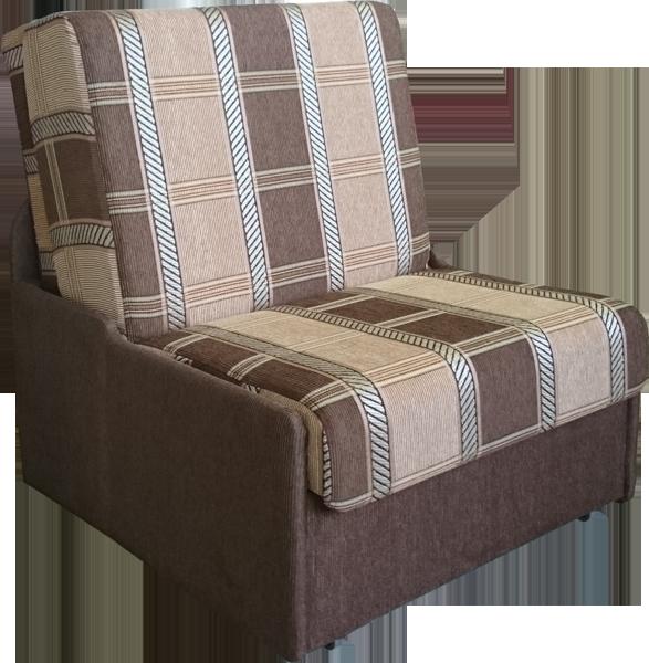 Коричневое кресло для сна