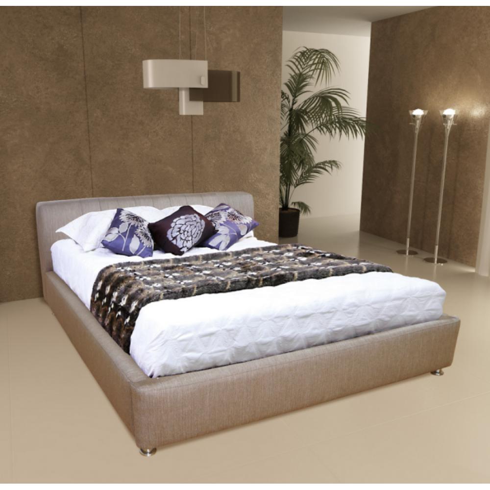 Коричневые оттенки дизайна спальни