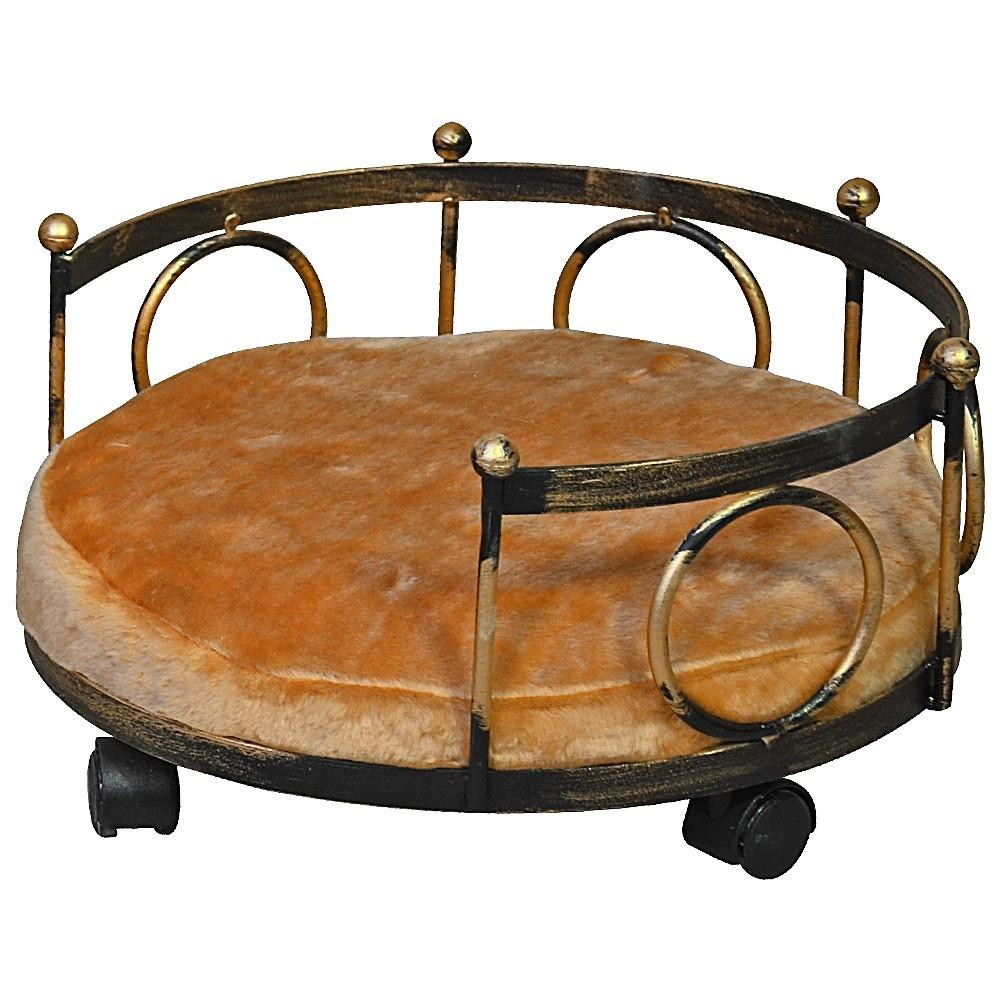 Кованая кровать для собак