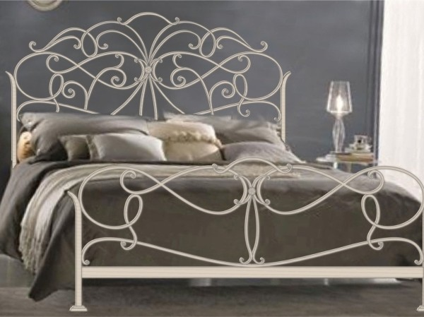 Кованая мебель белого цвета