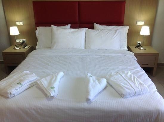 Красиво заправленные кровати