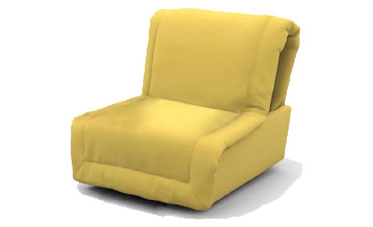 Кресло кровать аккордеон без подлокотников
