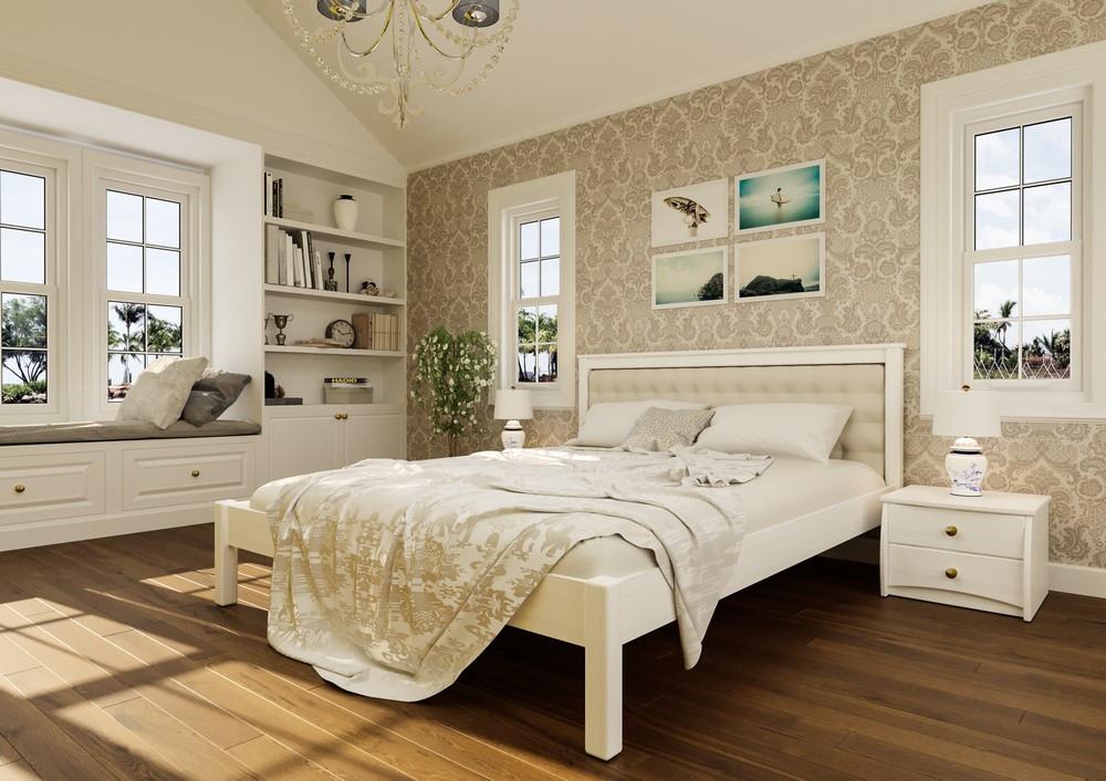 Кровать Модерн с мягким изголовьем
