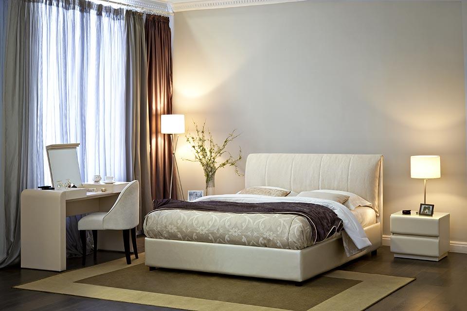 Кровать Таити в интерьере