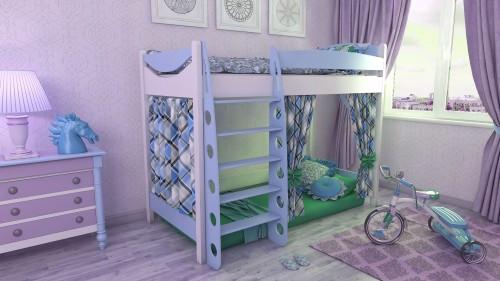 Кровать чердак детская для мальчиков и девочек