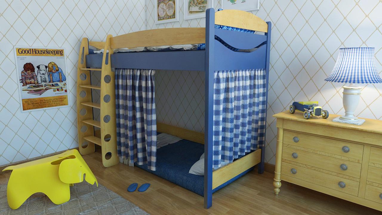 Кровать чердак детская для мальчиков