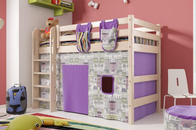 Кровать чердак металлическая