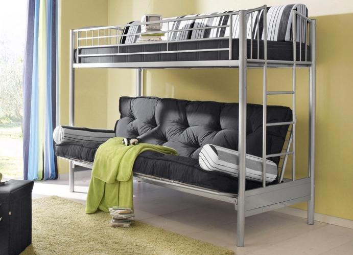 Кровать чердак с удобным диваном