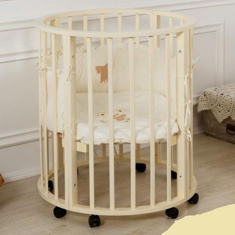 Кровать детская круглая