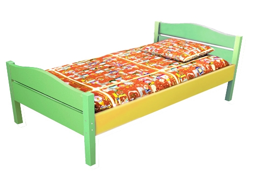 Кровать для детского сада массив
