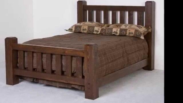 Кровать двухспальная из массива сосны, лиственицы