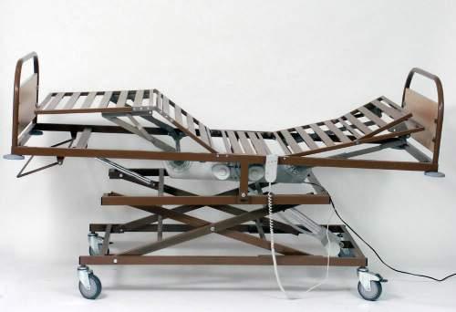 Кровать функциональная четырехсекционная с электроподъемом