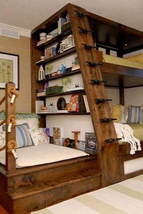 Кровать из дерева своими руками в спальню