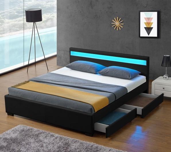 Кровать из еврокожи