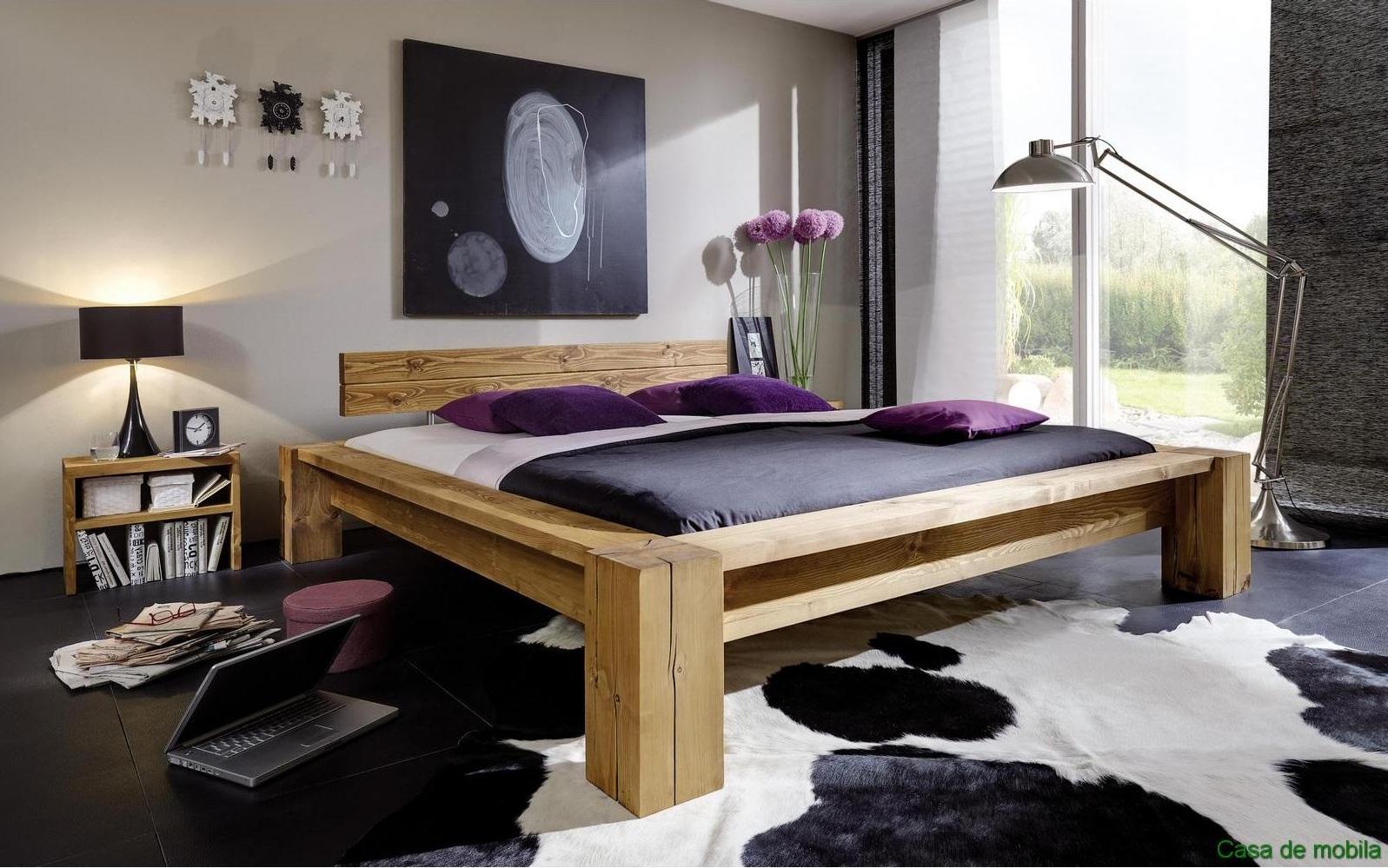 Кровать из массива сосны от немецкого производителя
