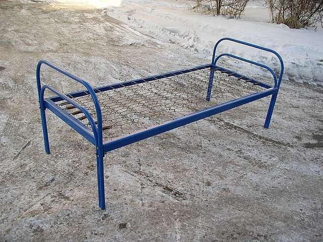 Кровать металлическая, разборная