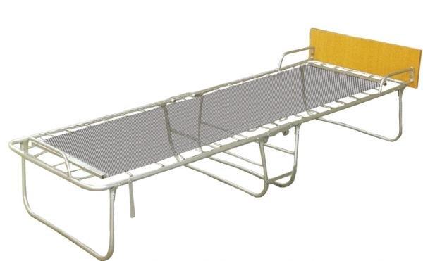 Кровать-раскладушка на панцирной сетке
