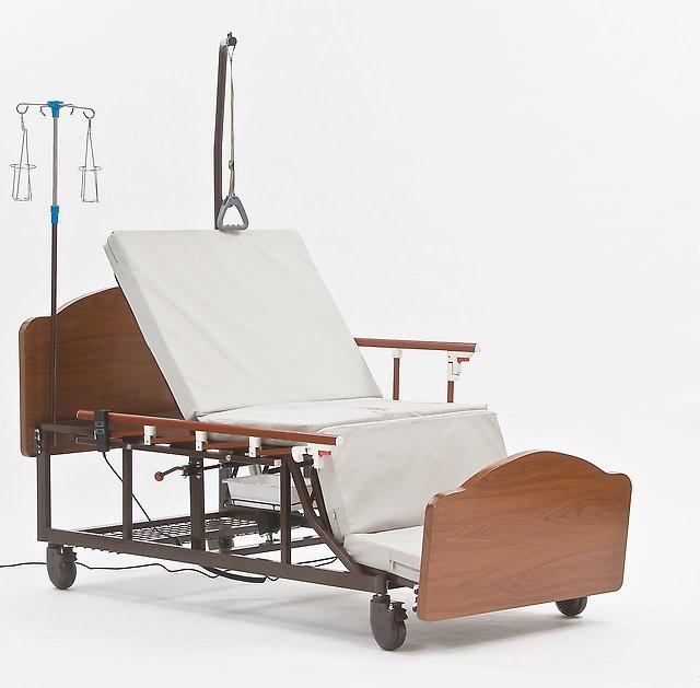 Кровать с механическим приводом для больницы