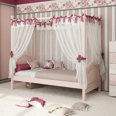 Кровать с надстройкой