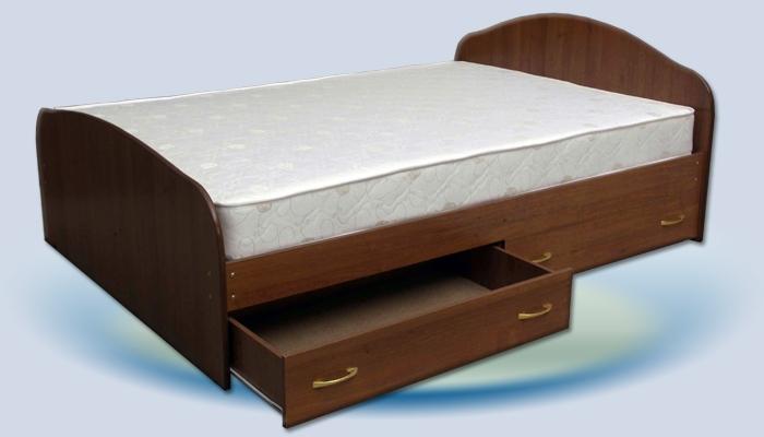 Кровать с ящиками ЛДСП