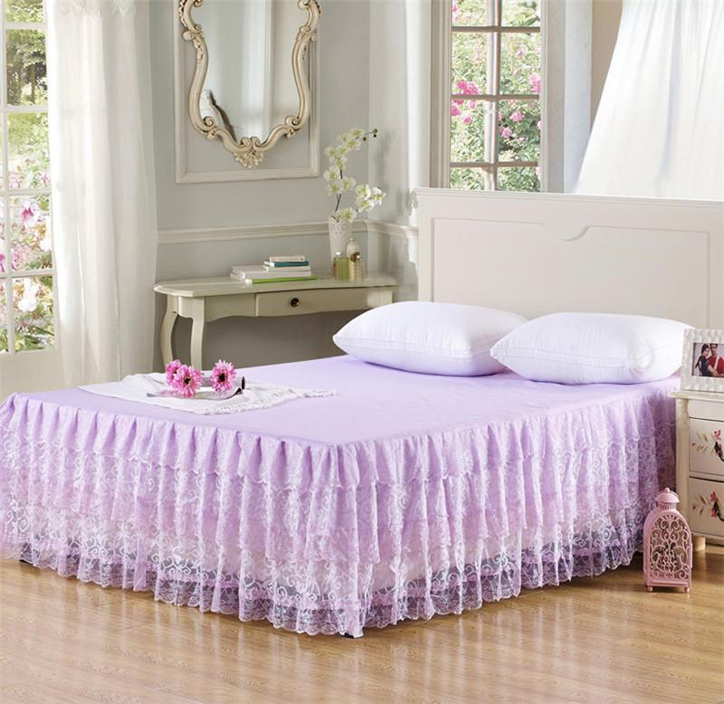 Кровать с юбкой