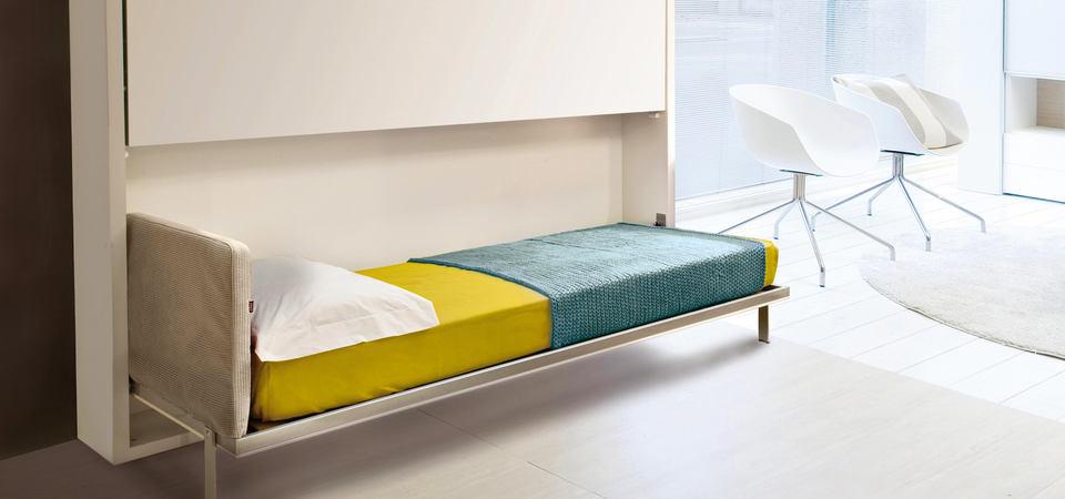 Кровать-трансформер итальянской фабрики DRS Traverso Collection