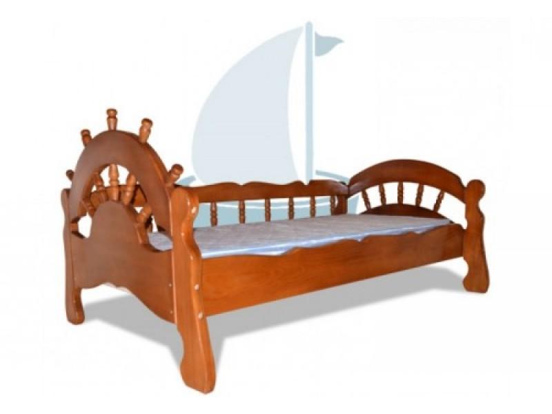 Кровать в морской тематики