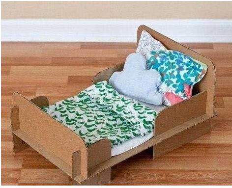 Кровать в собранном виде