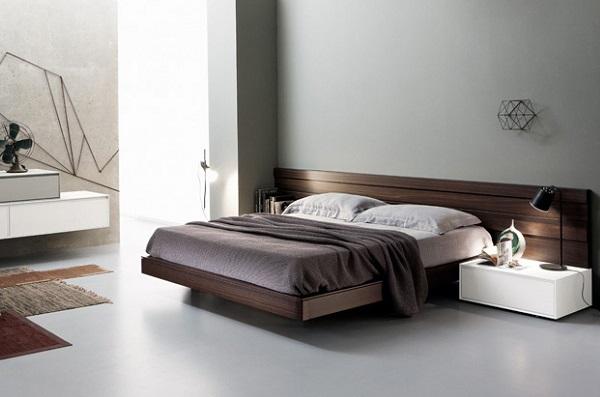 Кровать в стиле хай-тек