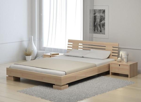 Кровать в стиле минимализ