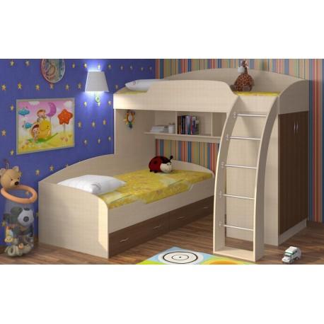 Кроватей из двух ярусов для дома