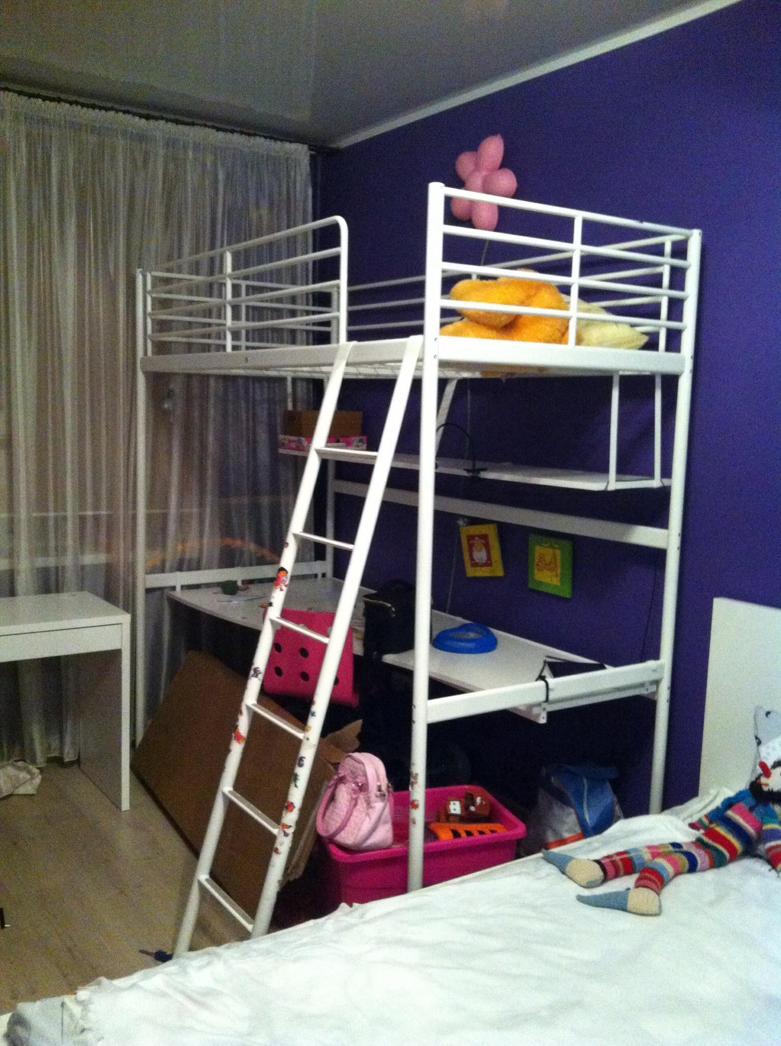 Кровати-чердаки и их особенности