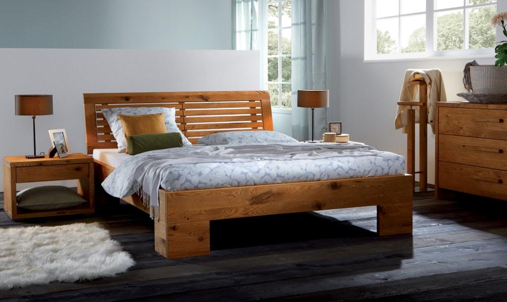 Кровати из бруса