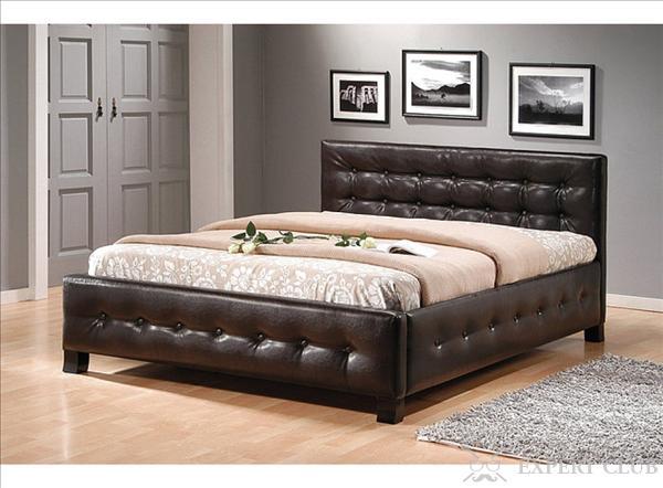 Кровати из экокожи - виды и особенности