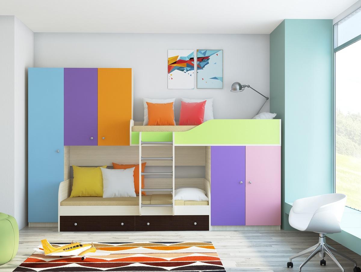 Кровати со шкафом