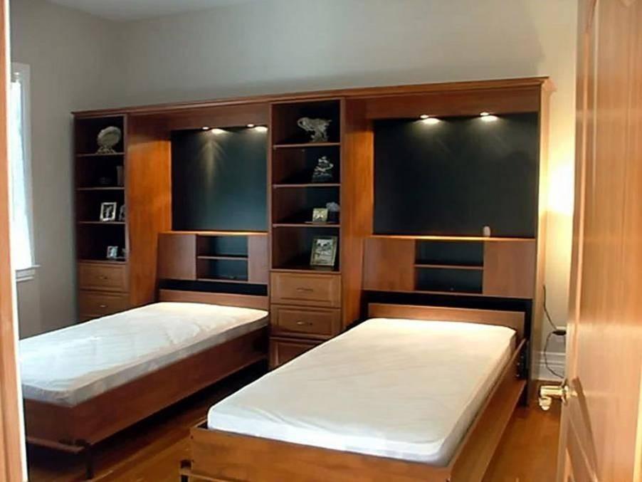 Кровати со встроенным шкафом