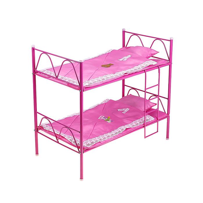 Кроватка для кукол Микс