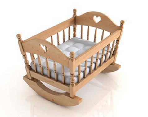 Кроватка качалка детская